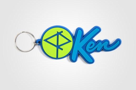 Ken x CASSETTE PLAYA 50th Anniversary Keychain