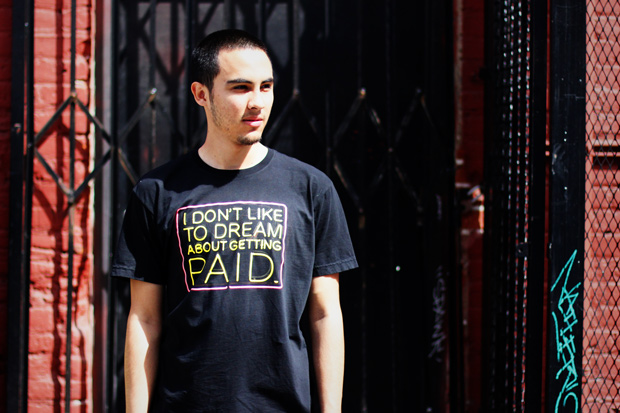"""Known Gallery x Patrick Martinez """"I DON'T LIKE TO DREAM ABOUT GETTING PAID"""" T-Shirt"""