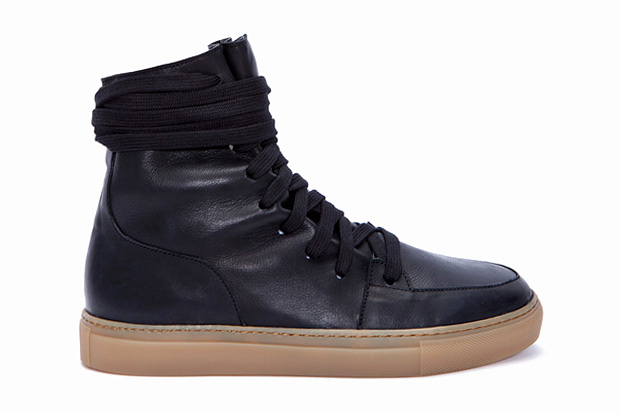 Kris Van Assche Leather Hi-Tops