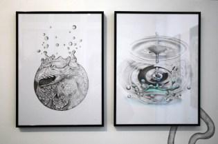 "Leslie David ""Stratigraphy"" Exhibition @ Galerie Surprise Recap"