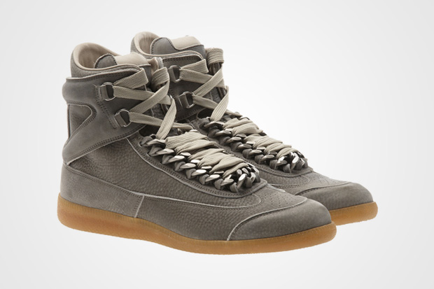 "Maison Martin Margiela Suede High Top ""Chains"""