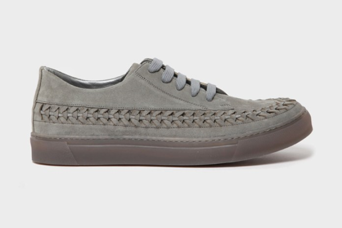 Marc Jacobs Leather Woven Sneaker