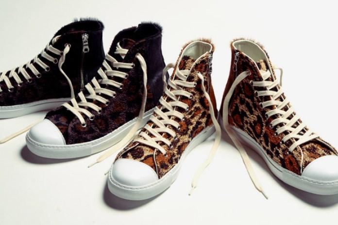 Mihara Yasuhiro x Chapel of Dawn Leopard Sneakers