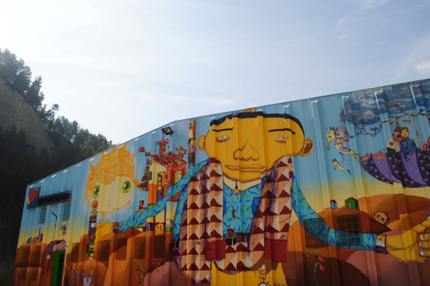 Montana Colors Factory Murals
