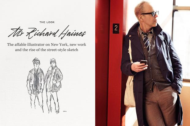 Mr. Porter: The Look – Mr. Richard Haines