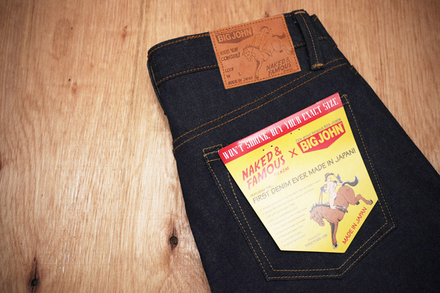Naked & Famous Denim x BIG JOHN 14oz Weird Guy Jeans