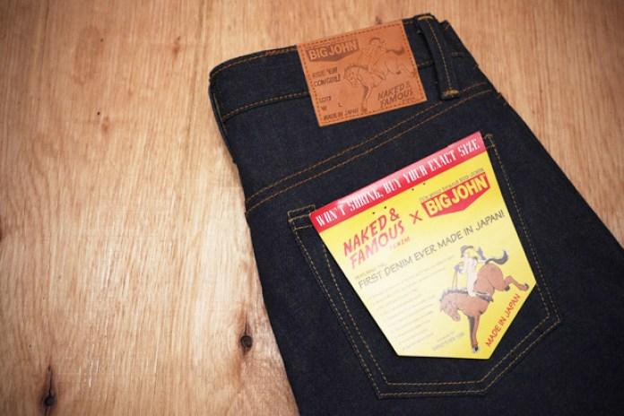 Naked & Famous Denim x BIG JOHN 14oz Weird Guy Jeans