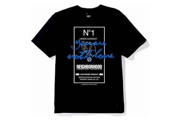 "NEIGHBORHOOD ""you are not alone"" Charity Tee"
