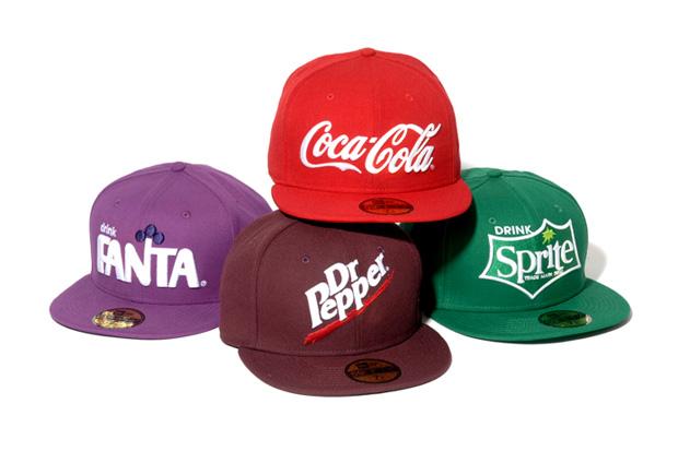 "New Era ""Drink Logo"" Collection"