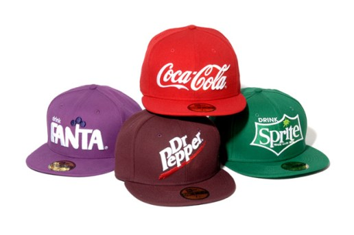"New Era ""Drink Logo"" Collection"