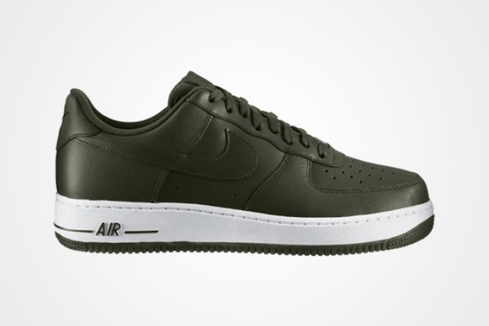 Nike Air Force 1 Low Bog Green/White
