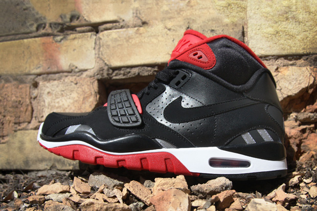 Nike Air Trainer SC II High Black/Black-Varsity Red