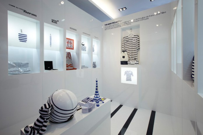 Nike x colette: The Away Project Retail Space