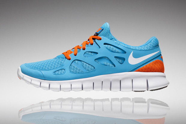 Nike Free Run+ 2 Teal/Orange