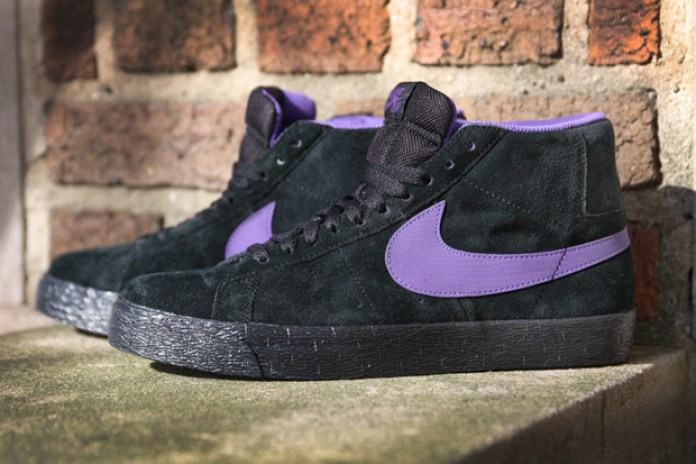 Nike SB Blazer Hi Black/Varsity Purple