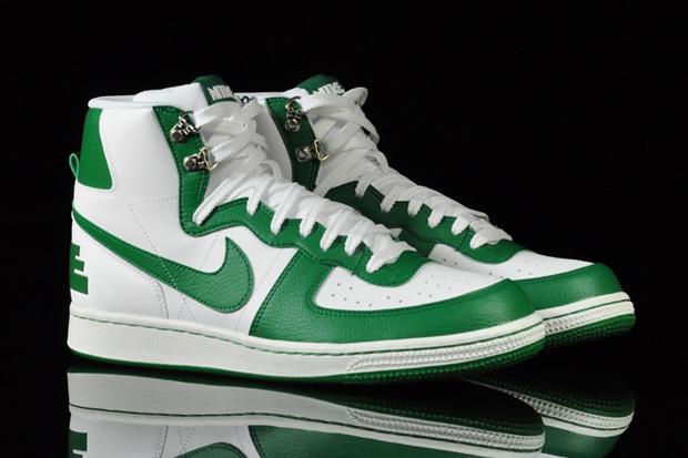 Nike Terminator High Basic White/Green