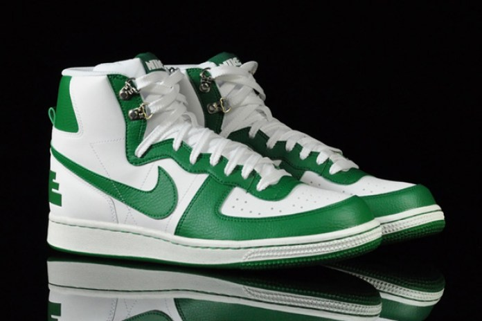 Nike Terminator High Basic White/Green