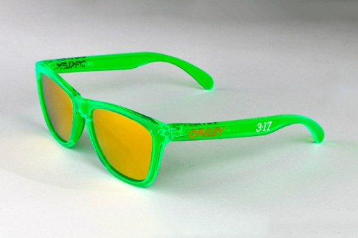 "Oakley Frogskins ""St. Paddy's Day"" Sunglasses"