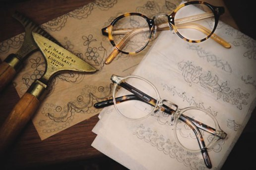 Oliver Peoples Vintage Lookbook