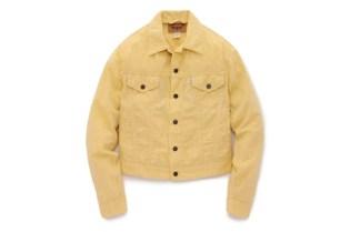 "Opening Ceremony x Levi's Trucker Jacket ""Yellow Chambray"""