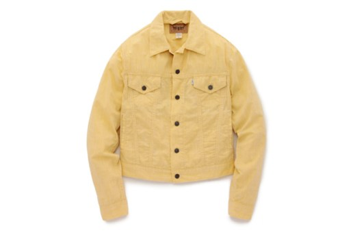 "Opening Ceremony x Levi's Trucker Jacket ""Yellow Chambray"""