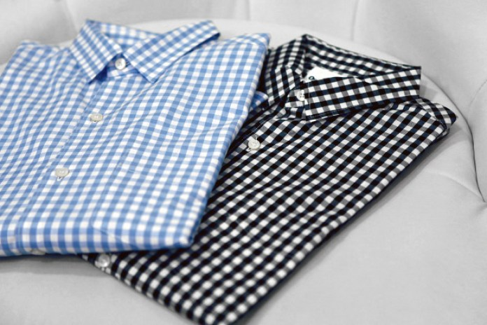"OriginalFake Gingham ""X"" Shirt"