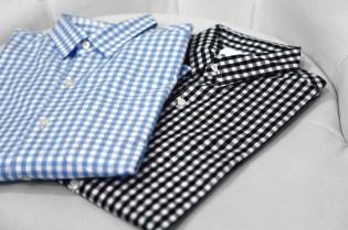 """OriginalFake Gingham """"X"""" Shirt"""