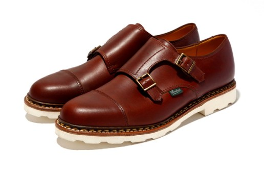 Paraboot for United Arrows Double Monk Strap