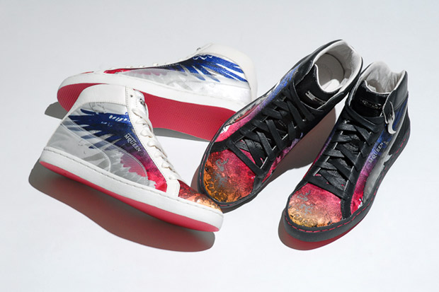"""PUMA by Alexander McQueen """"Eagle Print"""" Sneakers"""