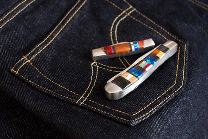 Self Edge Haught Inlaid Pocket-Knives