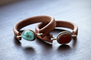 Self Edge Leather & Silver Bracelets