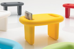 """Snoop"" Stool by Karim Rashid for B-LINE"