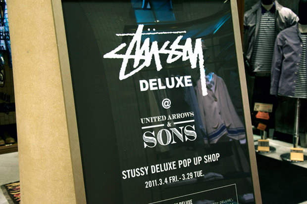 Stussy Deluxe Pop-Up Shop
