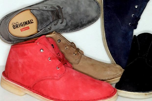 Supreme x Clarks Desert Boot