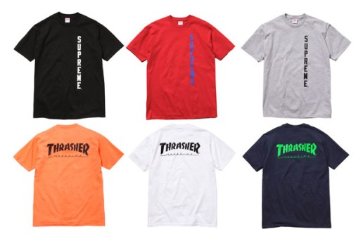 Supreme x Thrasher Capsule Collection