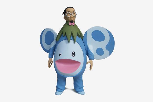 Takashi Murakami Toy Figure by Mike Leavitt