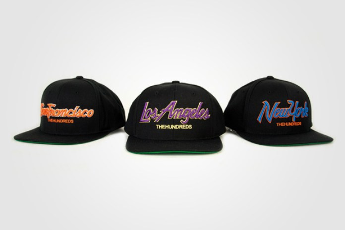 The Hundreds Store Exclusive City Snapback Pack
