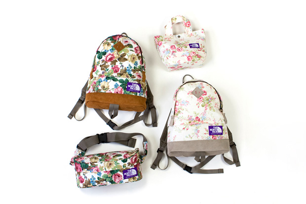 """The North Face Purple Label """"Floral Pattern"""" Collection"""