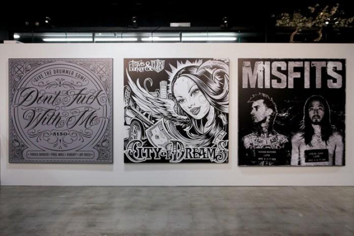 Travis Barker Album Art Show
