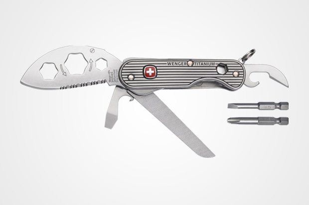 Ueli Steck x Wenger Titanium Knife