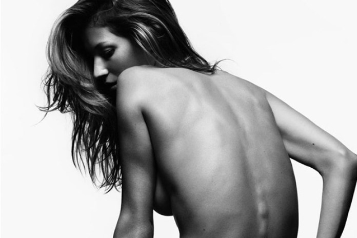 "V Magazine ""Gisele Unzipped"" Editorial by Hedi Slimane"