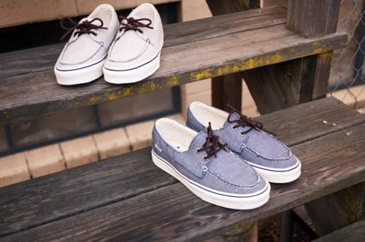 Vans California Zapato Del Barco Pinstripe