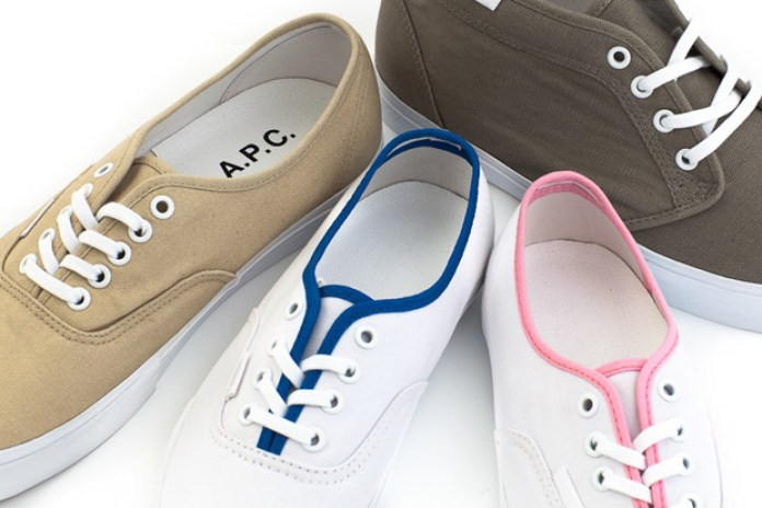 Vans x A.P.C. Capsule Collection - A Closer Look