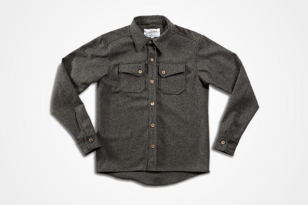3sixteen for Woodlands Supply Co. Heavyweight Over Shirt