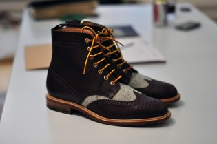 Woolrich Woolen Mills 2011 Fall/Winter Brogue Boot