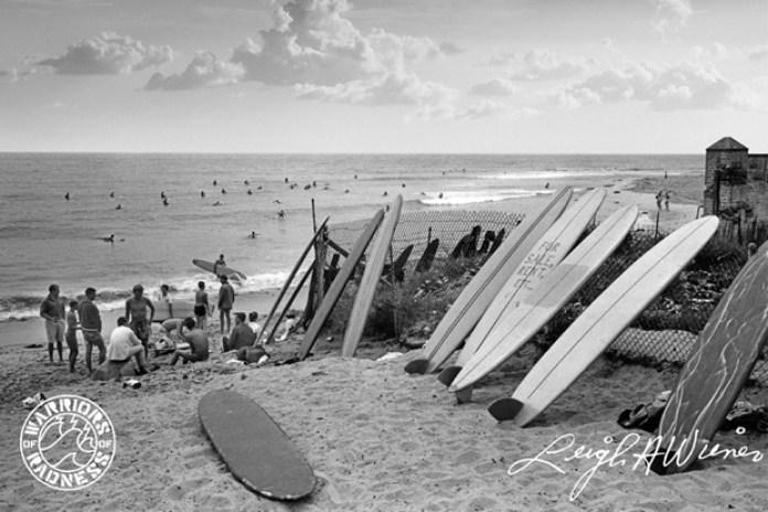 Warriors of Radness & Leigh Wiener Malibu Surfrider Beach Photo Tees