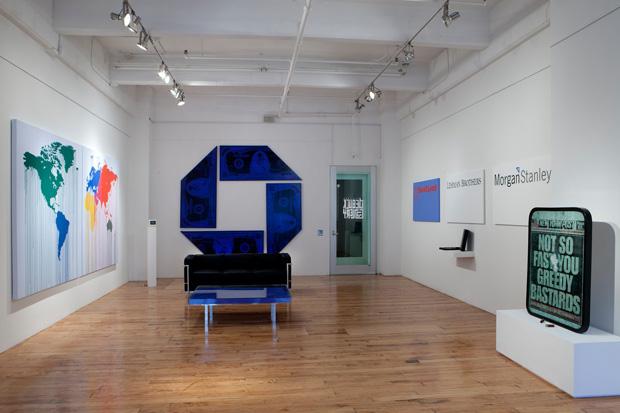 """Zevs """"Liquidated Version"""" Exhibition @ De Buck Gallery"""