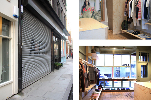 A.P.C. East London Store Opening