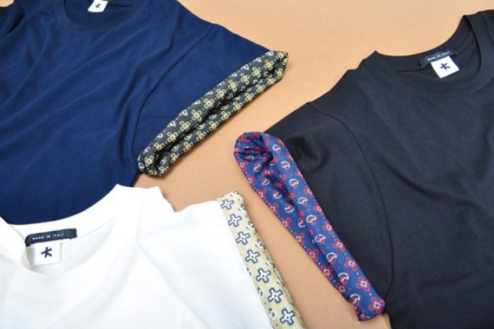 Adam Kimmel Bandana Roll-Up Sleeve Shirts