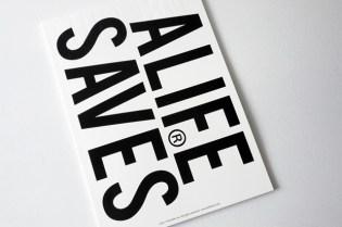 "ALIFE x HIDDEN CHAMPION BOOK Vol.3 ""ALIFE SAVES"""